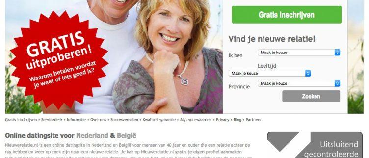 relatie dating site gratis