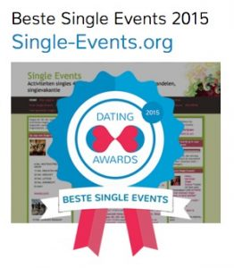 Single-Events.org wint dating award