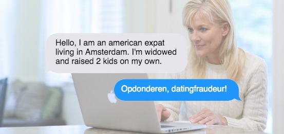 Fraude op dating sites