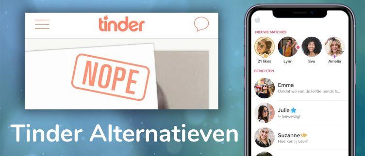 Tinder alternatieven: 7 datingsites die beter zijn dan Tinder