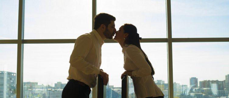 Flirten verliefd