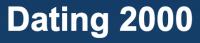 logo Dating 2000