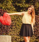 gebroken hart prullenbak