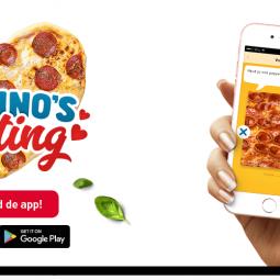 Nooit meer alleen pizza eten? Domino's komt met dating app.