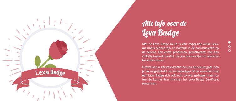 Wat is de Lexa Badge en wanneer verdien je deze?