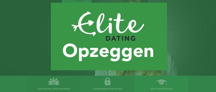 Uitschrijven bij EliteDating, hoe kan je je afmelden?